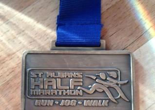 St Albans Half Maraton 5k Medal