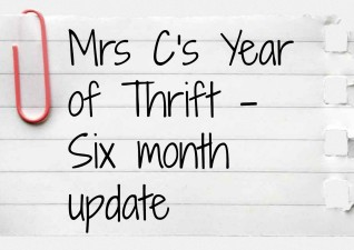 Year of Thrift