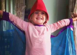 Fafu Wings and cone hat