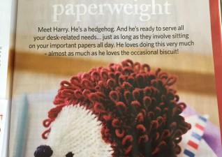Crafts Knitted Hedgehog
