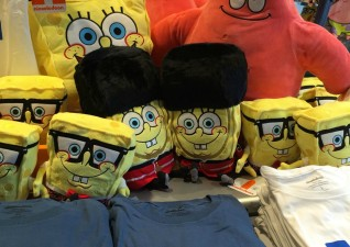 Nickelodeon Store London Spongebob Squarepants