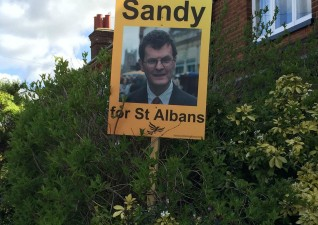 General Election Sandy For St Albans
