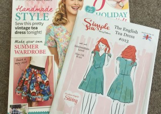 Hoping to make the tea dress pattern form this edition of Sewing Magazine. Crafts