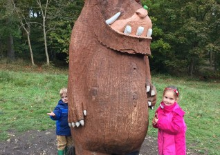 Wendover Woods Superworm Gruffalo