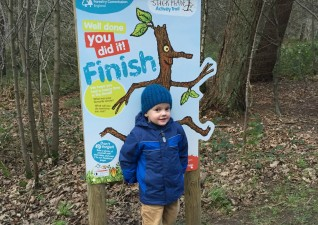 Stick Man Trail Wendover Woods