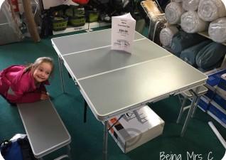 Camping Kit Table