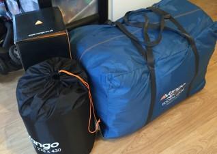 Vango Edoras 600XL family tent