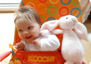 Little Miss C Pink Rabbit