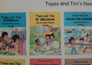 Vintage Topsy and Tim