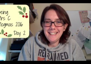 Vlogmas 2016 Day 2 #vlogmas16