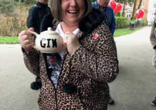 Team Honk Comic Relief Gin Teapot