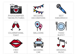 Wedding Bingo