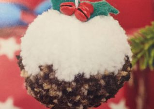 very pompom Christmas craft