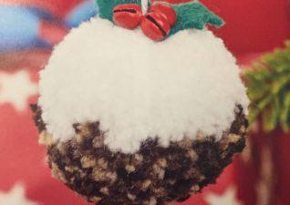 very pompom Christmas craft