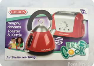 Morphy Richards Toaster and Kettle Role Play Set