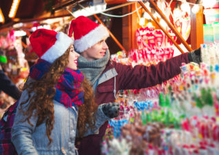 Five Thrifty Christmas Date Ideas