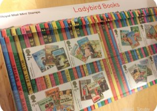 Ladybird Books Stamps