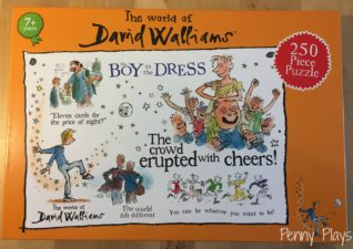 David Williams The Boy In The Dress Jigsaw Puzzle – Review and Giveaway