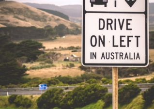 Australia Drive On the Left